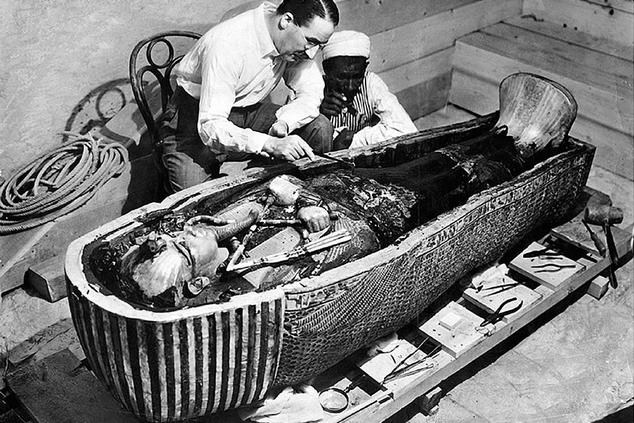 howard carter tumba tutankamon